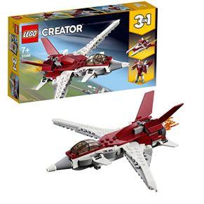 LEGO Creator - Reactor Futurista, Juguete 3 en 1 de Construcción de Avión y Naves Espaciales para Niños y Niñas a Partir de 7 Años con Diferentes Piezas (31086) , color/modelo surtido