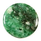 Gems&JewelsHub 44.65CTS naturale designer verde giada pietra preziosa rotonda cabochon sciolto
