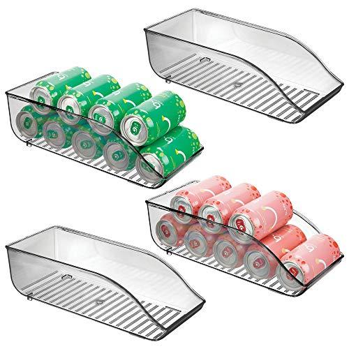 MetroDecor mDesign Set da 4 Contenitori frigo per Alimenti e Contenitore Freezer – Pratico...