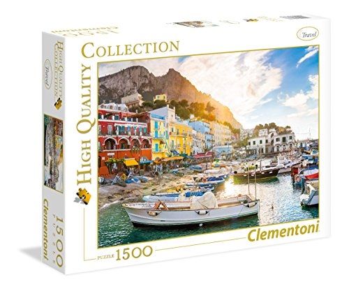 Clementoni - 31678 - High Quality Collection Puzzle - Capri - 1500 Pezzi