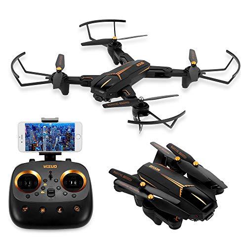 Goolsky VISUO XS812 Drone 2.4G GPS 5G WiFi FPV 1080P Telecamera grandangolare RC Quadcopter Pieghevole Altitude Hold RC Droni (1 Batteria)
