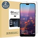 [2 Pack]Huawei P20 Pellicola Protettiva, EasyULT 2 Pack Pellicola Protettiva in Vetro Temperato per Huawei P20