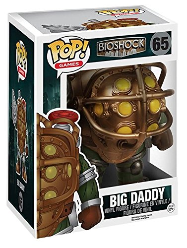 "Funko Pop!- Vinyl: Games: Bioshock: 6"" Big Daddy (6169)"