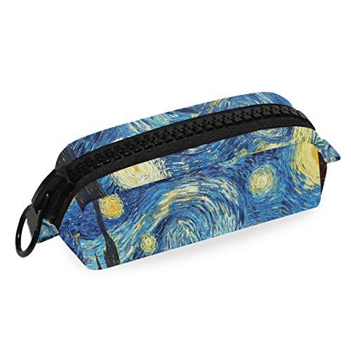 Van Gogh Starry Night - Astuccio portapenne per cancelleria, per studenti, ufficio, monete,...