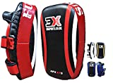 3X Professional Choice Boxeo Strike Shield Training Thai Pad Kickboxing Krav Maga MMA Target Focus Punching Mitts (Vendido como UN Solo ARTÍCULO)