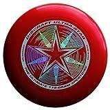 "Discraft Ultra-Star 175g Ultimate Frisbee ""Starburst"" - rot"