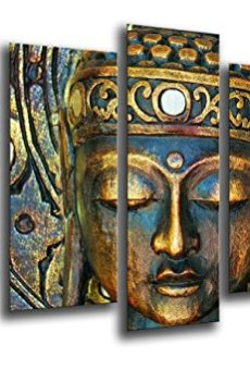 Cuadro Fotográfico Buda, Buddha, Relajacion, Zen, Meditacion, Relax Tamaño total: 165 x 62 cm XXL