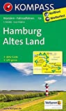 KOMPASS Wanderkarte Hamburg, Altes Land: Wanderkarte mit Aktiv Guide und Radwegen. GPS-genau. 1:50000: Wandelkaart 1:50 000 (KOMPASS-Wanderkarten, Band 726)