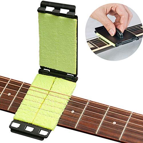 WIKEA - Pulitore per tastiera e corde per chitarra, basso, violino e altri strumenti