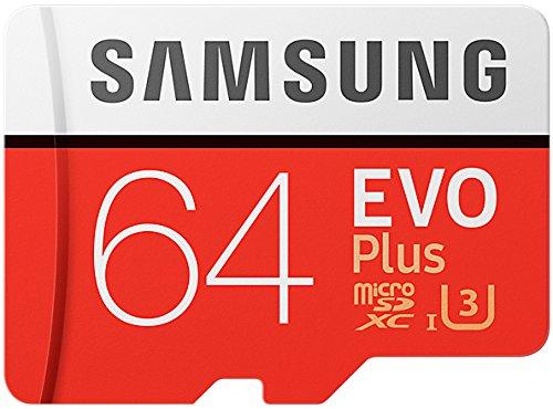 Samsung MB-MC64GA/AMZ - EVO Plus Micro SDXC da 64 GB fino a 100 MB / s, scheda di memoria U3 classe...