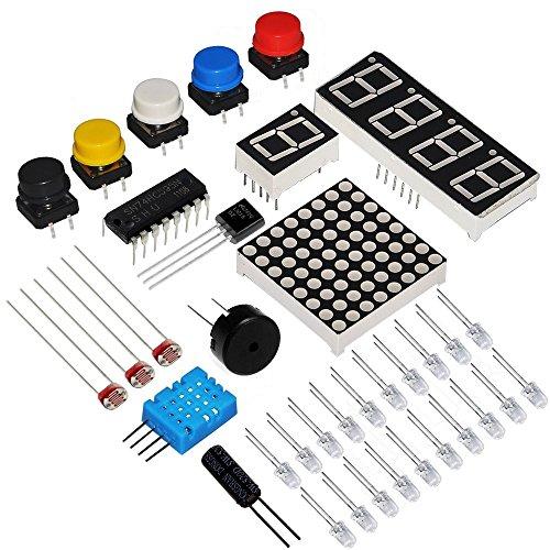 5189dm6s0oL - Kit de aprendizaje para programar KOOKYE para Arduino, Raspberry Pi none UNO R3 Starter kit for Arduino