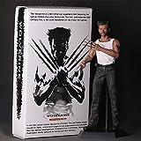 RLJWEN Marvel Toy Statue Wolverine Boxed Modèle Film Poupée Modèle Maison Décoration Wolverine
