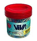Viva C101 Barattolo, Multicolore