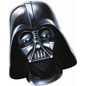 Careta papel Star Wars Máscara Darth Vader Adulto El despertar de la fuerza mascarilla Accesorio disfraz caballero oscuro Antifaz guerrero Maestro Sith Careta Jedi Lord Vader