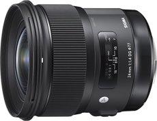 Sigma 24 mm/F 1.4 DG HSM Art - Objetivo para Sigma, color negro