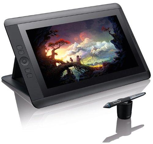 Wacom DTK-1300-3 Display Interattivo Full HD con Penna, Tavoletta Grafica, Pen & Touch 2048 Livelli di Pressione, 13 Pollici