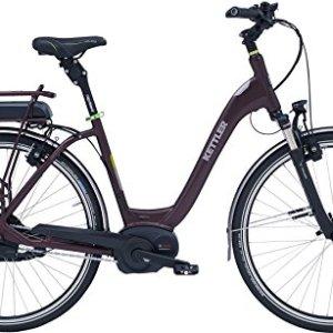 e761df1e8035c1 Damen City E-Bike 28 Zoll Lila – Kettler Pedelec Explorer E Tour –  Akkukapazität 500Wh