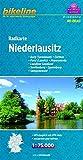 Bikeline Radkarte Niederlausitz. Burg, Cottbus, Forst, Hoyerswerda, Lausitzer Seenland, Senftenberg, Spremberg, Südspreewald, 1 : 75 000, wasserfest und reißfest, GPS-tauglich mit UTM-Netz