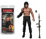 Top Top Anime Club Rambo First Blood Part II-17,8cm Figura de acción-Serie 3(Rocky) NECA
