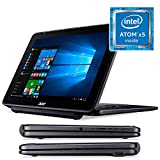 "Acer One 10 S1003-174L - Convertible 2 en 1 de 10.1"" WXGA LCD (WiFi, Bluetooth, Procesador Intel Atom x5-Z8300, 2 GB de RAM, 32 GB de almacienamento, Windows 10 Home) Negro - Teclado QWERTY Español"
