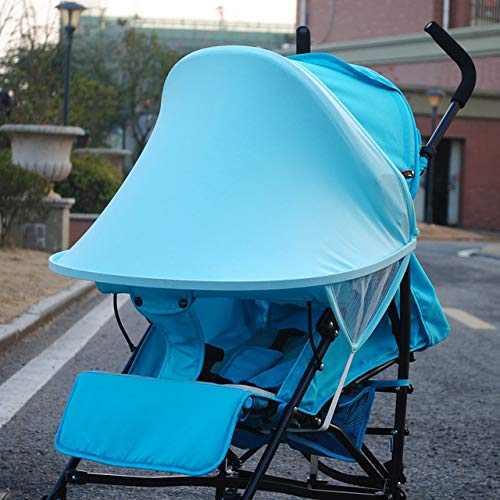Summer Infant Stroller Canopy Cover UV Protective Stroller Sun Shade for Pram Car Seat Buggy Pushchair Cap Stroller Accessories : 2