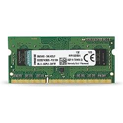 Kingston KVR13S9S8/4 - Memoria RAM de 4 GB (1333 MHz, DDR3, Non-ECC, CL9, SODIMM 204-pin, 1.5 V)