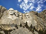 Photo Wallpaper Mount Rushmore Americas Vlies Tapete- Wallpaper - Modern Wall Decoration - Murals - Photo Gifts - Wall Decoration Wall motive24 Size: L 300 x 210 cm - 6 Strips - Paper