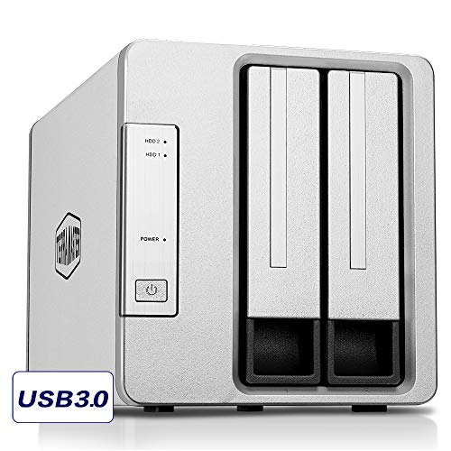 TerraMaster D2-310 USB Type C External Hard Drive RAID Enclosure USB3.1 (Gen2