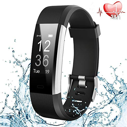 Fitness Tracker,Orologio Fitness Activity Tracker Impermeabile IP67 Cardiofrequenzimetro Polso...