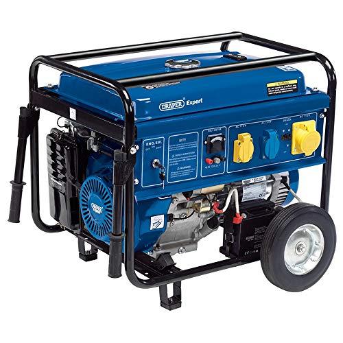 Draper pg58W Generador de gasolina, color azul