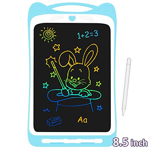 AGPTEK Tavoletta Grafica LCD Scrittura 8.5 Pollici Colorato, con Pulsante di Blocco, Elettronica...