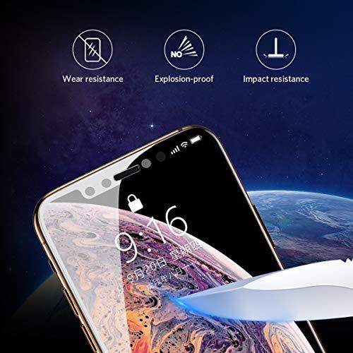 Benks Verre Trempé Anti Espion pour iPhone XS Max Privacy Film de Protection Écran Complet 3D Vitre Protecteur Anti Rayures Ultra Résistant ... 28