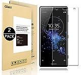 Sony Xperia XZ2 Compact Pellicole Protettive, Vigeer [2 Pack] [0,3mm, 2,5D] [Durezza 9H] [Facilità di Installazione] [HD Clear] Protezione Dello Schermo in Vetro Temprato per Sony Xperia XZ2 Compact