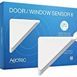 Aeotec by Aeon Labs ZW112 Door / Window Sensor, Small, White by Aeon Labs