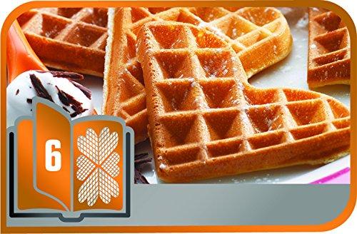 Tefal xa800612 snack collection coffret de plaque pour gaufre coeur avec livre de recettes 4 4 x - Plaque tefal snack collection ...