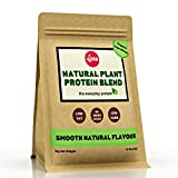 Vive Vegan Protein Powder, Smooth Natural Flavour | Sweetener-Free, Rice & Pea Protein (1kg)