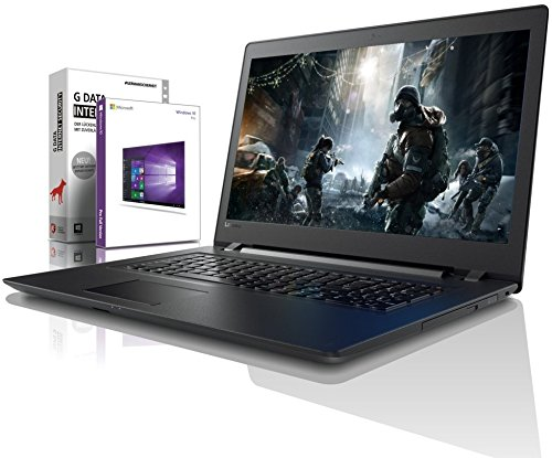Lenovo (15,6 Zoll) Notebook (AMD A4-9125 Dual Core 2x2.6 GHz, 8GB DDR4 RAM, 512GB SSD, Radeon R3, HDMI, Webcam, Bluetooth, USB 3.0, WLAN, Windows 10 Prof. 64 Bit, MS Office 2010 Starter) #6200