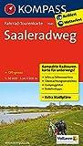 Fahrrad-Tourenkarte Saaleradweg - Von Münchberg nach Schönebeck (Elbe): Fahrrad-Tourenkarte. GPS-genau. 1:50000. (KOMPASS-Fahrrad-Tourenkarten, Band 7045)