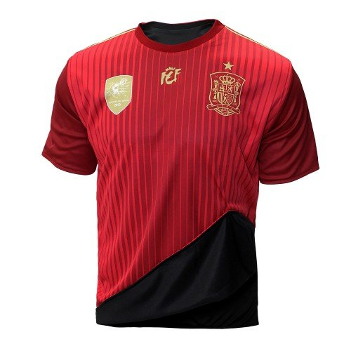 Selección española de fútbol. Camiseta oficial reversible. 2 en 1. (L)