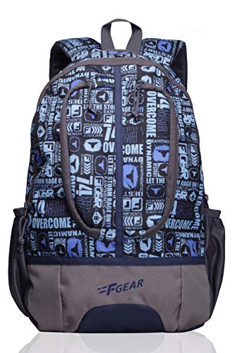 F Gear Dropsy P11 21 Liters Casual Backpack (Sky Blue)