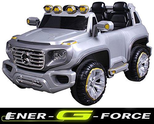 #simron Mercedes G ener-G-force Geländewagen Kinderauto Elektro Kinderfahrzeug Ride-On 12V Kinder Elektroauto#