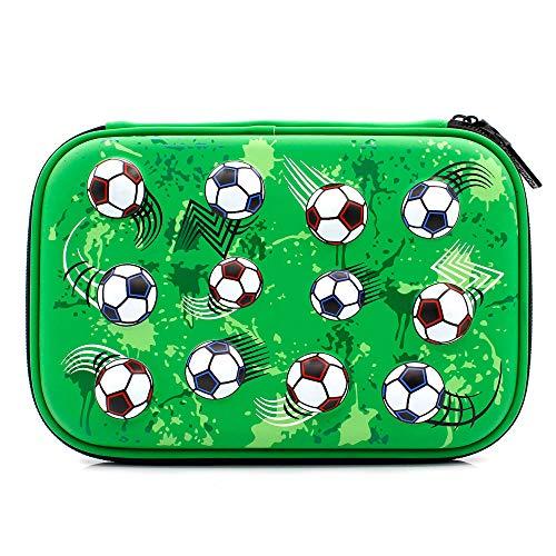 portamatite da calcio di grandi dimensioni portamatite portamonete scuola ragazzi cancelleria...