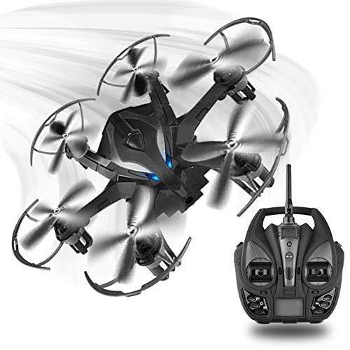 ZPWSNH Mini Drone A Sei Assi, Il Telecomando Ritorna Automaticamente al Drone, modalità Senza Testa/Ritorno A Pulsante Singolo/modalità Punto Fisso fuco