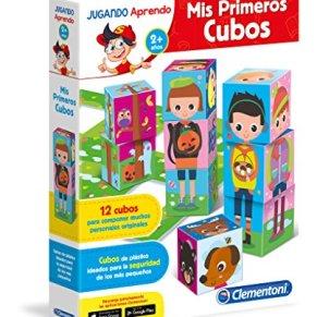 Clementoni - Baby aprende, mis Primeros Cubos (55115.6)