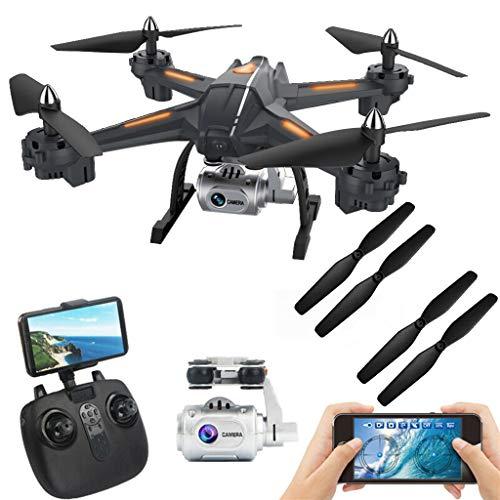 ┃BYEEEt┃ Drone S5 - Droni Quadricotteri GPS Fotocamera 1080P HD 2.4GHz con Telecomando Drone...