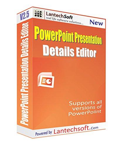 Lantech Soft PowerPoint Presentation Details Editor (CD)
