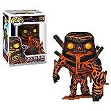 Funko- Pop Vinyl: Spider Far from Home Molten Man Disney Marvel Figura da Collezione, Multicolore, 39209