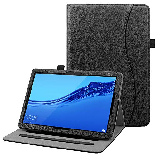 FINTIE Custodia Cover per Huawei MediaPad T5 10 - [Multi-angli] Slim Fit Folio Smart Pieghevole...