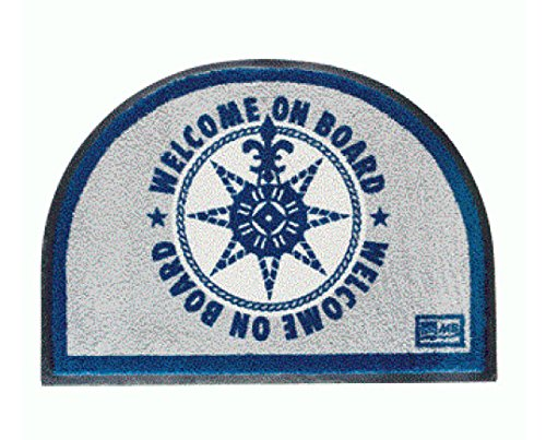 TAPPETO MARINE BUSINESS WELCOME ON BOARD BLU 50X70 CM