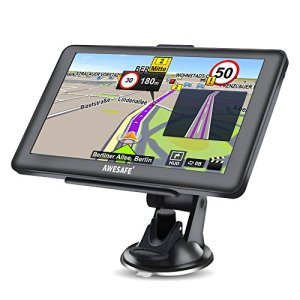 Awesafe GPS Navi Navigation 7 Zoll Test
